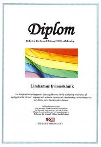 HBTQ Diplom Limhamns Kvinnoklinik